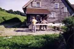 2004 Standbau in Mogelsberg Roveranlass